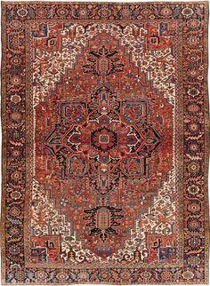 16 Best Antique Persian Heriz Rugs Carpets Images In 2019