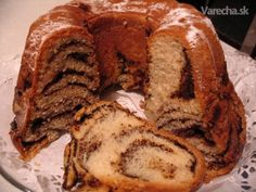 Štedrá kysnutá bábovka (fotorecept) Love Cake, Scones, French Toast, Bread, Cookies, Breakfast, Basket, Recipe, Crack Crackers