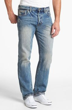PRPS 'Barracuda' Straight Leg Selvedge Jeans (5-Year) available at #Nordstrom