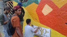 Recuperan con participación ciudadana tres murales en El Hatillo