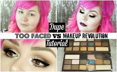 DUPE TUTORIAL : Makeup Revolution VS Too Faced + New Freedom Products