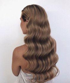 Haare Haare Haar wedding hairstyles - wedding hairstyles half up half down Romantic Wedding Hair, Wedding Hair And Makeup, Hair Makeup, Long Hair Wedding, Wedding Hair Styles, Wedding Curls, Elegant Wedding, Wedding Dress, Luxy Hair