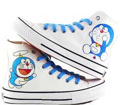 sneakers for girls Girls Sneakers, Girls Shoes, High Top Sneakers, Shoes Sneakers, Doremon Cartoon, Cartoon Shoes, Custom Sneakers, Custom Shoes, Kids Canvas