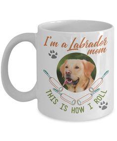 Labrador Mom Funny Coffee Mug | Gift Idea for Labrador Lovers | Tea Cup