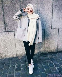 H i j a b i s hijab fashion style, fashion muslimah, street hijab fashion, hijab Hijab Casual, Hijab Chic, Casual Outfits, Grunge Outfits, Classy Outfits, Street Hijab Fashion, Muslim Fashion, Modest Fashion, Fashion Muslimah