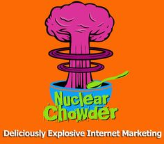 The Nuclear Chowder logo.  Delicious and explosive  http://www.nuclearchowder