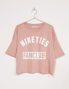 Camiseta Oversize 'Limitless' - Camisetas - Bershka Mexico