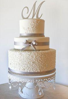 5 Very Cute Wedding Cake Topper Ideas - crazyforus Unique Wedding Cakes, Beautiful Wedding Cakes, Wedding Cake Designs, Wedding Cake Toppers, Beautiful Cakes, Unique Weddings, Amazing Cakes, Perfect Wedding, Unique Cakes