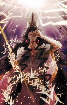 Magi - David - Solomon Arc