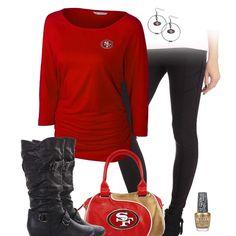 San Francisco 49ers Leggings Outfit