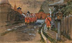 strelets-patrol-at-ilyinskie-gates-in-the-old-moscow.jpg (1000×598)