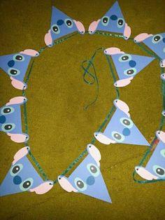 stitch birthday party decorations * stitch birthday party & stitch birthday party ideas & stitch birthday party for boy & stitch birthday party decorations Boy Birthday Parties, Birthday Party Decorations, 2nd Birthday, Birthday Ideas, Lelo And Stitch, Lilo Et Stitch, Disney Stitch, Disney Crafts, First Birthdays