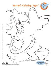 Dr Suess printables - we love Dr Suess in our house!