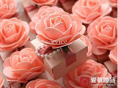 Wholesale 30Pcs/Lot Beautiful Pink Flower Candy Boxes Wedding And Party Favor Gift Box, Free shipping, /Piece | DHgate