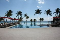 Gorgeous infinity pool flows right to the beach- Azul Fives by Karisma - Riviera Maya, MX