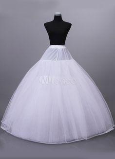 Enaguas para vestidos de novias de color blanco