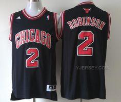 http://www.yjersey.com/nba-chicago-bulls-2-robinson-black-jerseys.html Only$34.00 #NBA CHICAGO #BULLS 2 ROBINSON BLACK JERSEYS Free Shipping!