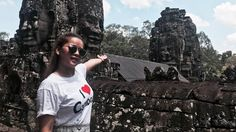 Amazing Places - Bayon & Ta Prohm Temple at Angkor Wat in Siem Reap City