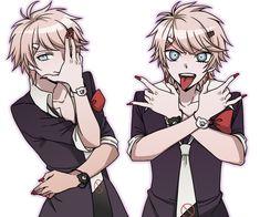 I'm a big fan of Danganronpa so found many pics Monokuma Danganronpa, Super Danganronpa, Danganronpa Memes, Nagito Komaeda, Danganronpa Characters, Anime Art, Manga Anime, Danganronpa Trigger Happy Havoc, Gender Swap