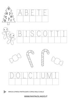 Italian Lessons, Lesson Plans, Christmas Time, How To Plan, Words, Halloween, Alphabet, Autism, Lesson Planning