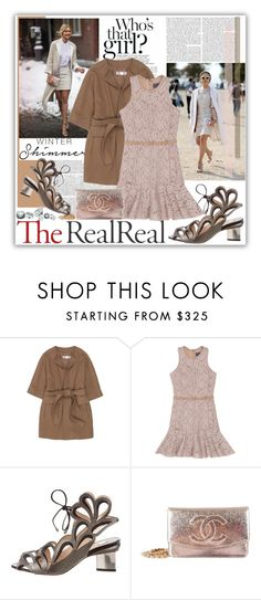"""""""Holiday Sparkle With The RealReal: Contest Entry"""" by kirathelovergirl ❤ liked on Polyvore featuring STELLA McCARTNEY, Lanvin, Nicholas Kirkwood and Chanel"""