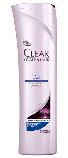 Clear Total Care Shampoo, 12.9 Fl oz