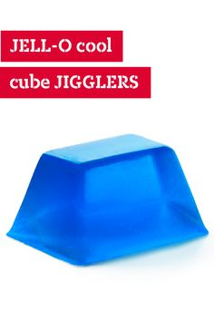 JELL-O Cool Cube JIGGLERS – You don't need molds or fancy cookie cutters to make these JELL-O Cool Cube JIGGLERS. Any old ice cube tray will do to enjoy this refreshing sweet treat.