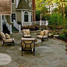 stamped concrete patio designs   Stamped concrete ideas