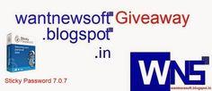 Sticky Password 7.0.7 Free Dowload Full Version [GOTD] Read more at http://wantnewsoft.blogspot.com/2014/09/sticky-password-707-free-dowload-full.html #wantnewsoft