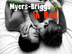 Each Myers-Briggs Type In Bed