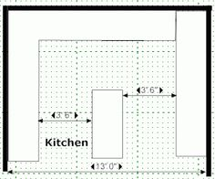 traditional kitchen- floor plan (1) | prokitchen software-3d+floor