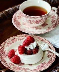It is tea time