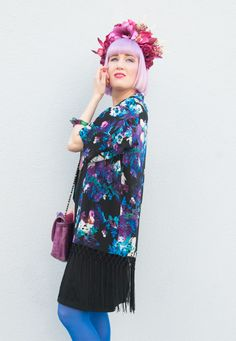 Sara from Sara is in Love wears Quiz Clothing Kimono http://saraisinlovewith.blogspot.co.uk/2014/09/the-quirky-geisha.html