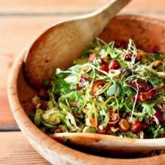Brussels Sprout Coleslaw HealthyAperture.com