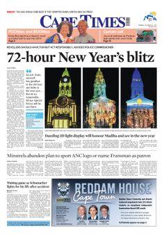 News making headlines: 72 hour New Year's blitz