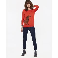 Dachshund Sweater by Joules