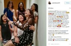 PICS: Sushmita Sen celebrates her birthday with her daughters and close friends