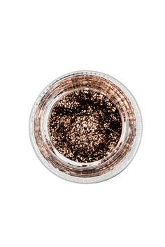 DIRTY PENNY  Burnt Copper Glitter Paste  ✨  SPACEPASTE™ is a full coverage, ultra thick glitter paste designed for  artist use on face and body and infused with magick essential oils giving a  very faint lemon scent and good vibes.  Net wt. 0.5 oz; Vegan, Cruelty Free and Sourced Locally w