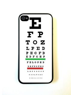 Medical Eye Vision Exam Optometry Chart iPhone 5c by Crowdcrazy, $12.98