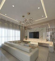 Living Room Interior, Home Living Room, Living Room Decor, Home Room Design, House Design, Living Room Tv Unit Designs, Elegant Living Room, Küchen Design, Luxury Interior Design