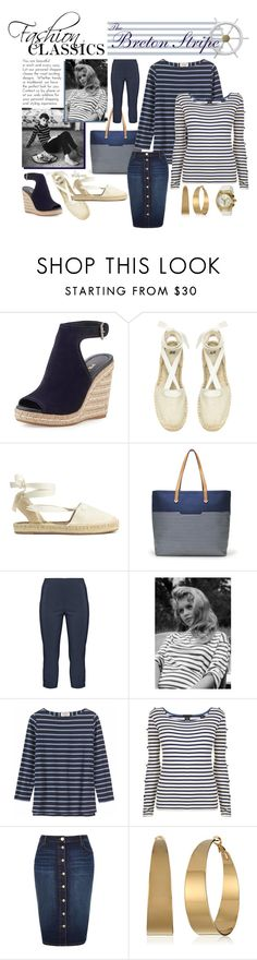 """Fashion Classic - Breton Stripe"" by duchess74 ❤ liked on Polyvore featuring Prada, H&M, Stella & Dot, Twister, Toast, Maison Scotch, River Island, Vince Camuto, TechnoMarine and stripedshirt"