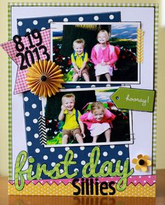 Back to School Layout - Pebbles, Inc.