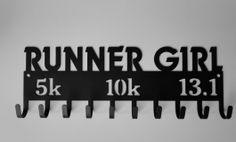 Running Medal Hangers - Detroit Metal Works