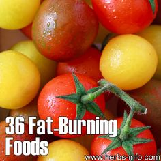 ❤ 36 Fat Burning Foods ❤