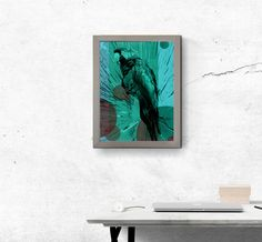 Absolutely Unique.  This Parrot image was created as part of out animal collection available on Redbubble and Displate now.  Digitally printed at A4 size and framed in a wooden frame coated silver, this image can be mounted to your wall or stood on any surface.  Available in four different colour combinations, why not display as an array as pictured?     If you would prefer this item in a different colour to that offered here, please contact us for a bespoke quote.  We are always happy to help. Parrot Image, Wooden Frames, Different Colors, Display, Unique, Prints, Animals, Design, Floor Space
