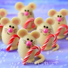 I got the chance to try the new Silk Cashew Milk which I used to make the ganache that is inside these adorable Triple Chocolate Truffle Christmas Mice...