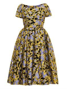 Mary Katrantzou Silera Carmen jacquard dress