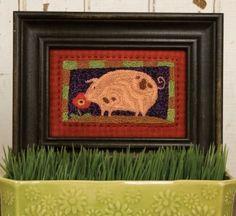 Piggy's Perfume Punch Needle PATTERN
