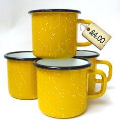 bargain-yellow-enamel-mugs
