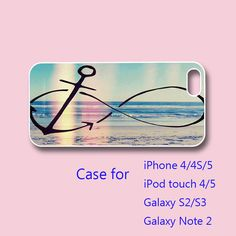 anchor infinity  iPhone 5 case iPhone 4 case ipod by Colorcases, $14.99